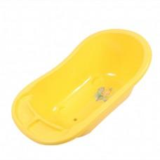 Ванна детская с водостоком (уп.5) желтая 0140желт