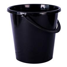 Ведро 10л черное Огородное Ар-пласт