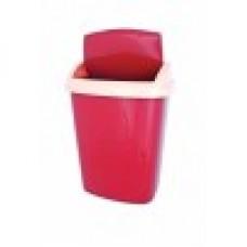 Ведро для мусора 25л Мультипласт (уп.6)
