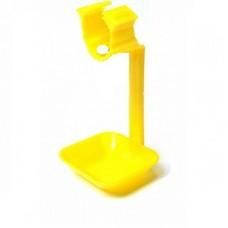 Каплеуловитель для ниппельной поилки желтый