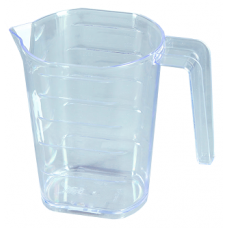 Кружка мерная Каскад 1л прозрачная Ар-пласт (уп.55)