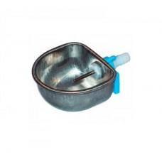 Поилка чашечная металлическая с клапанным наполнителем для кроликов (уп.5)