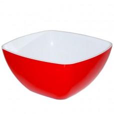 Салатник двуцветный 160*160мм Милих (уп.40)